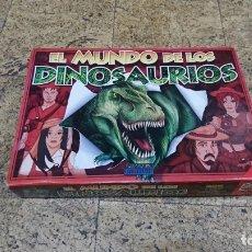 Juegos de mesa: EL MUNDO DE LOS DINOSAURIOS, JUEGOS DINOVA . Lote 177978102