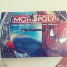 Juegos de mesa: MONOPOLY SPIDERMAN. Lote 178181110