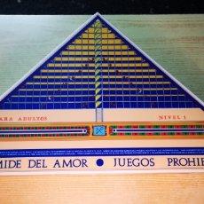 Juegos de mesa: PIRAMIDE DEL AMOR JUEGOS PROHIDOS DE CEJU NUEVO A ESTRENAR. Lote 178229360