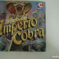 Juegos de mesa: EN BUSCA DEL IMPERIO COBRA CEFA COMPLETO. Lote 178298016