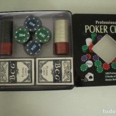 Juegos de mesa: JUEGO DE POKER CHIPS PROFESIONAL . Lote 178299038