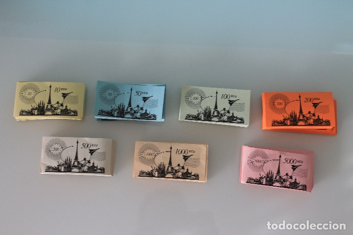 Juegos de mesa: MONOPOLY VERSIÓN EUROPEA - PARKER 1991 - ULTRARRARO - CON ECUS - Foto 5 - 178305023