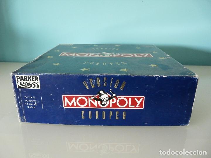 Juegos de mesa: MONOPOLY VERSIÓN EUROPEA - PARKER 1991 - ULTRARRARO - CON ECUS - Foto 13 - 178305023