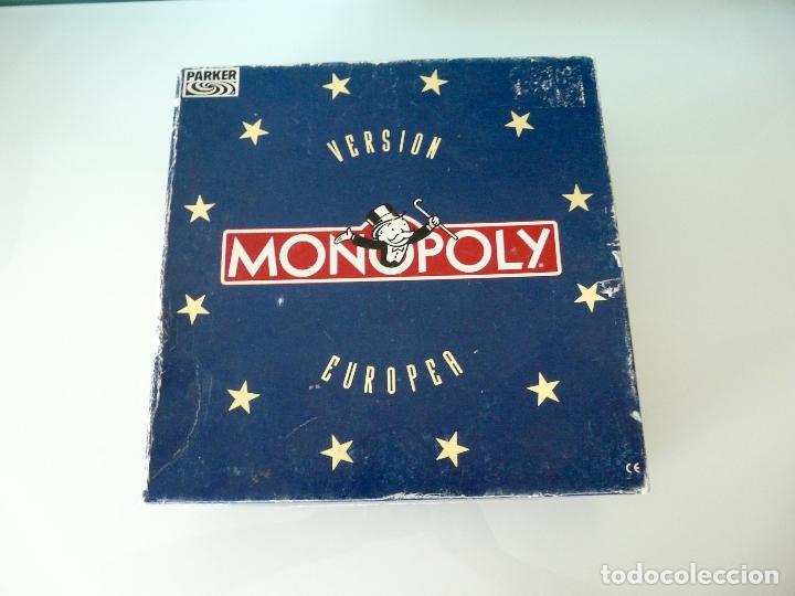 Juegos de mesa: MONOPOLY VERSIÓN EUROPEA - PARKER 1991 - ULTRARRARO - CON ECUS - Foto 14 - 178305023
