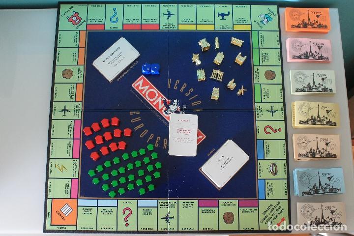MONOPOLY VERSIÓN EUROPEA - PARKER 1991 - ULTRARRARO - CON ECUS (Juguetes - Juegos - Juegos de Mesa)