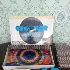 Juegos de mesa: OCASION COLECCIONISTAS JUEGO DE MESA COMPUTER 2001 GAME FEBER ESPAÑA AÑOS 80 SIN USO. Lote 178340101