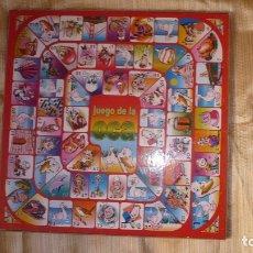 Juegos de mesa: TABLERO OCA Y PARCHIS GRANDE. Lote 178383802