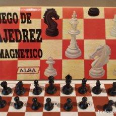 Juegos de mesa: AJEDREZ DE VIAJE MAGNÉTICO PUBLICIDAD ALSA. Lote 178619380