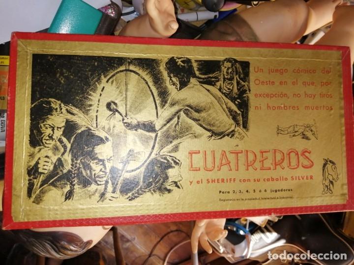 CUATREROS JUEGOS CRONE BARCELONA AÑOS 50 (Juguetes - Juegos - Juegos de Mesa)