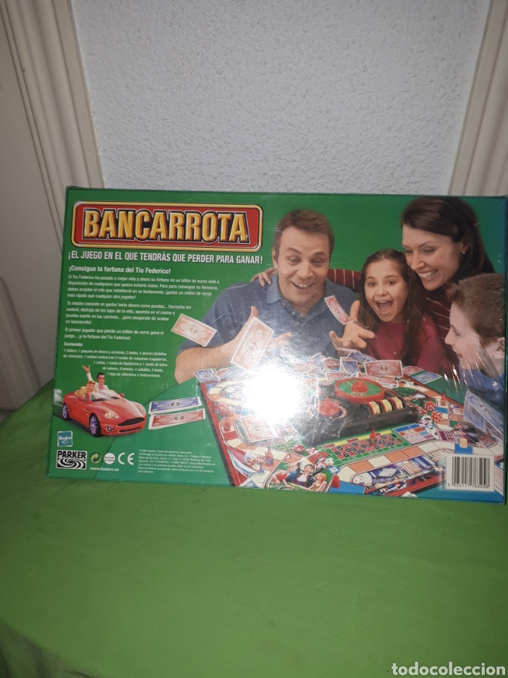 Juegos de mesa: JUEGO DE MESA BANCARROTA DE PARKER 2004 PRECINTADO - Foto 2 - 178819165