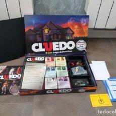 Juegos de mesa: JUEGO DE MESA CLUEDO MODERNO HASBRO. Lote 178827040
