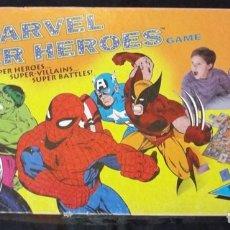 Juegos de mesa: MARVEL SUPER HEROES GAME PRESSMAN TOY CORPORATION 1992 - COMPLETO - VINTAGE -. Lote 178832491