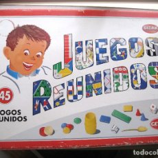 Juegos de mesa: JUEGOS REUNIDOS ( 45 ) GEYPER - BIZAK. Lote 178926263