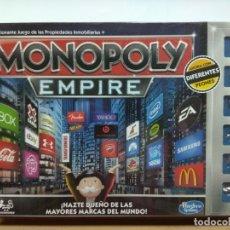 Juegos de mesa: MONOPOLY EMPIRE. Lote 178932852