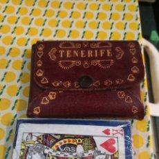 Jeux de table: CARTAS CON ESTUCHE ACAETONADO TENERIFE SOUVENIRS AÑOS 70/80. Lote 178998527
