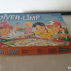 Juegos de mesa: DIVER LIMP. Lote 179041878