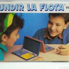 Juegos de mesa: HUNDIR LA FLOTA , FALOMIR- ANTIGUO JUEGO AÑOS 60/70 IDEAL COLECCIONISTAS. Lote 179052510