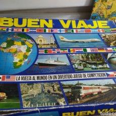 Juegos de mesa: JUEGO DE MESA BUEN VIAJE, AÑOS 70 .EDUCA. Lote 179052525