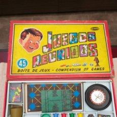 Juegos de mesa: JUEGO DE MESA JUEGOS REUNIDOS GEYPER 45 COMPLETO. Lote 179100970