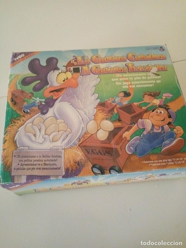 LA GALLINA CATALINA (AÑOS 70-80) (Juguetes - Juegos - Juegos de Mesa)