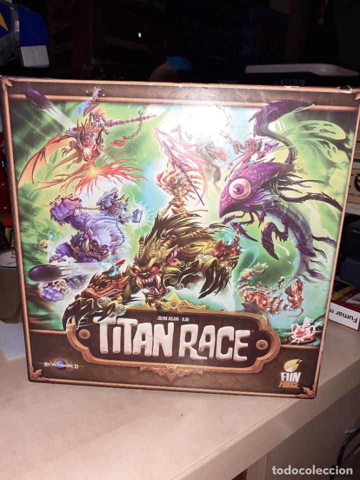 TITAN RACE.FUNFORGE 2015.JUEGO DE ROL. (Juguetes - Juegos - Juegos de Mesa)