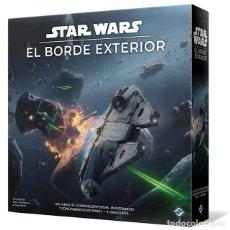 Juegos de mesa: STAR WARS: EL BORDE EXTERIOR - JUEGO DE MESA. Lote 179145211