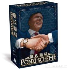 Juegos de mesa: PONZI SCHEME - JUEGO DE MESA. Lote 179145501
