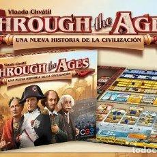 Juegos de mesa: THROUGH THE AGES - JUEGO DE MESA. Lote 179145568