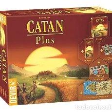 Juegos de mesa: CATAN PLUS - JUEGO DE MESA. Lote 179145737