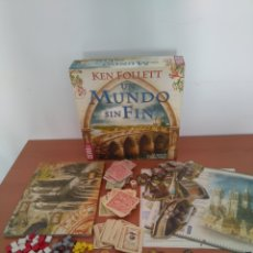 Juegos de mesa: UN MUNDO SIN FIN (JUEGO DE MESA) - KEN FOLLET - DEVIR. Lote 179154972