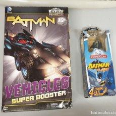 Juegos de mesa: BATMAN HEROCLIX - VEHICLES SUPER BOOSTER - INVISIBLE JET + BOOSTER BATMAN / NUEVO. Lote 69682353