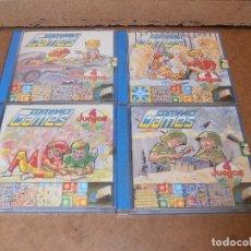 Juegos de mesa: COMPACT GAMES Nº1- 2 -3 - 4 DE CHICO 4 JUEGOS EN 1 - EN CAJA ORIGINAL. Lote 179185881