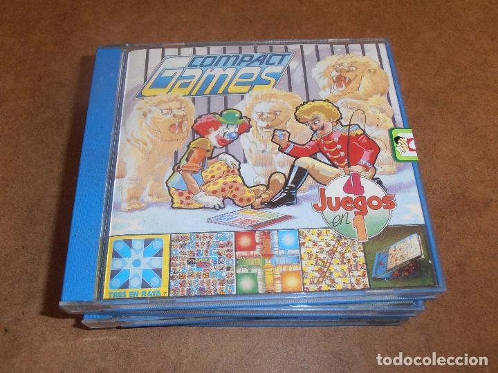 Juegos de mesa: COMPACT GAMES Nº1- 2 -3 - 4 DE CHICO 4 JUEGOS EN 1 - EN CAJA ORIGINAL - Foto 2 - 179185881