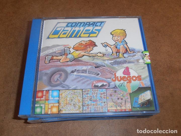 Juegos de mesa: COMPACT GAMES Nº1- 2 -3 - 4 DE CHICO 4 JUEGOS EN 1 - EN CAJA ORIGINAL - Foto 3 - 179185881