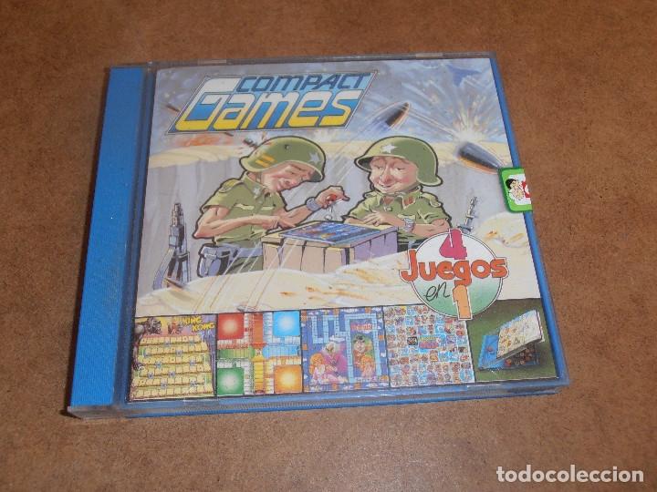 Juegos de mesa: COMPACT GAMES Nº1- 2 -3 - 4 DE CHICO 4 JUEGOS EN 1 - EN CAJA ORIGINAL - Foto 5 - 179185881