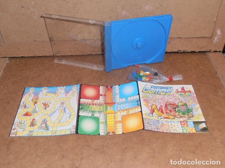 Juegos de mesa: COMPACT GAMES Nº1- 2 -3 - 4 DE CHICO 4 JUEGOS EN 1 - EN CAJA ORIGINAL - Foto 7 - 179185881