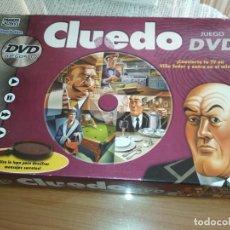 Juegos de mesa: JUEGO DE MESA CLUEDO CON DVD. Lote 179189681