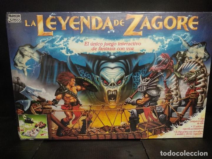 LA LEYENDA DE ZAGORE HASBRO (Juguetes - Juegos - Juegos de Mesa)