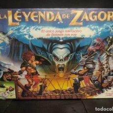 Juegos de mesa: LA LEYENDA DE ZAGORE HASBRO. Lote 179333872