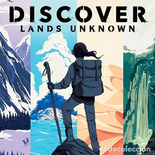 DISCOVER: LANDS UNKNOWN - JUEGO DE MESA (Juguetes - Juegos - Juegos de Mesa)