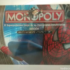 Juegos de mesa: MONOPOLY SPIDERMAN 2007 PRECINTADO. Lote 179700070