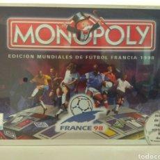 Juegos de mesa: MONOPOLY MUNDIAL DE FÚTBOL FRANCIA 1998. Lote 179768392