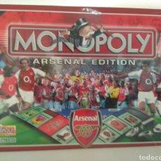 Juegos de mesa: MONOPOLY ARSENAL FÚTBOL CLUB EDITION. Lote 179831240
