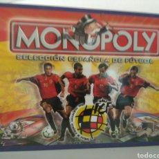 Juegos de mesa: MONOPOLY SELECCIÓN ESPAÑOLA DE FÚTBOL AÑO 2000. Lote 179849783