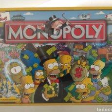 Juegos de mesa: MONOPOLY SIMPSONS AÑO 2003. Lote 179942600