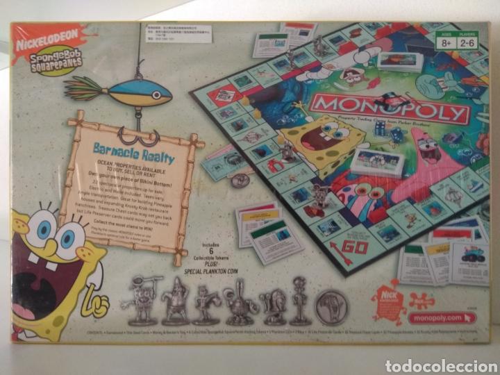 Juegos de mesa: Monopoly Bob Esponja USA 2005 - Foto 2 - 179944683