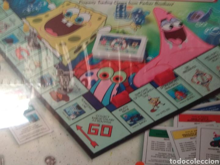 Juegos de mesa: Monopoly Bob Esponja USA 2005 - Foto 5 - 179944683