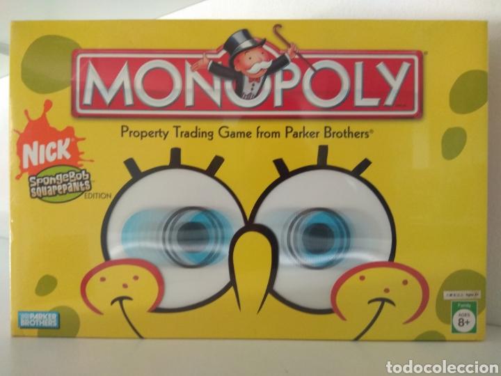MONOPOLY BOB ESPONJA USA 2005 (Juguetes - Juegos - Juegos de Mesa)