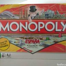Juegos de mesa: MONOPOLY CIUDADES DE ESPAÑA VOTADAS POR EL PÚBLICO. Lote 179947816