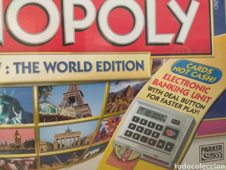 Juegos de mesa: Monopoly Edición Mundial votado por el publico en inglés - Foto 2 - 179953093